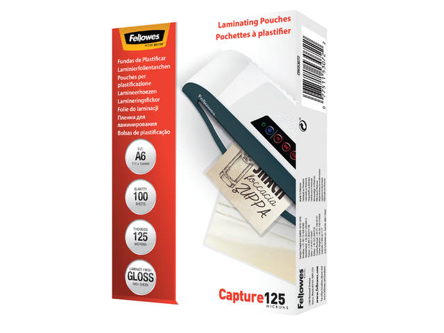LAMINEERHOES FELLOWES A6 2X125MICRON 1