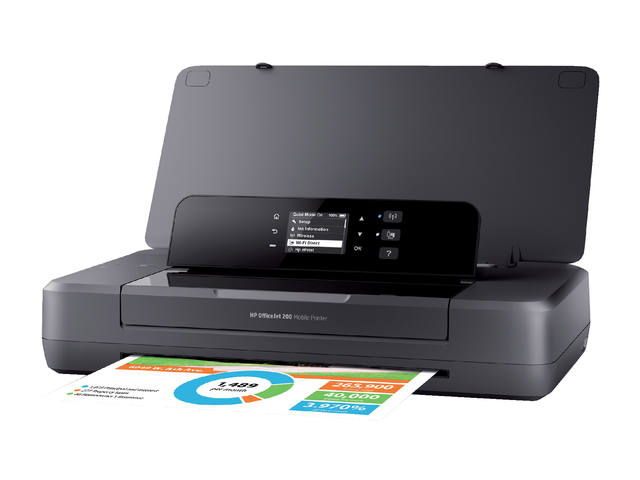 INKJETPRINTER HP OFFICEJET 200 MOBILE 1