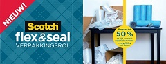 Nieuw in ons assortiment: Scotch Flex & Seal