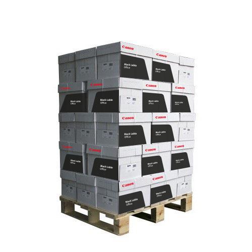 Kopieerpapier Canon Black Label Office A4 80 grams wit NEN2728 pallet a 200 pak 1